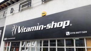 Vitamin Shop sign