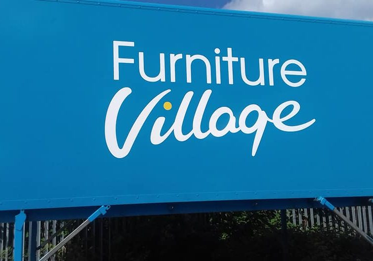 Furniture Village store sign