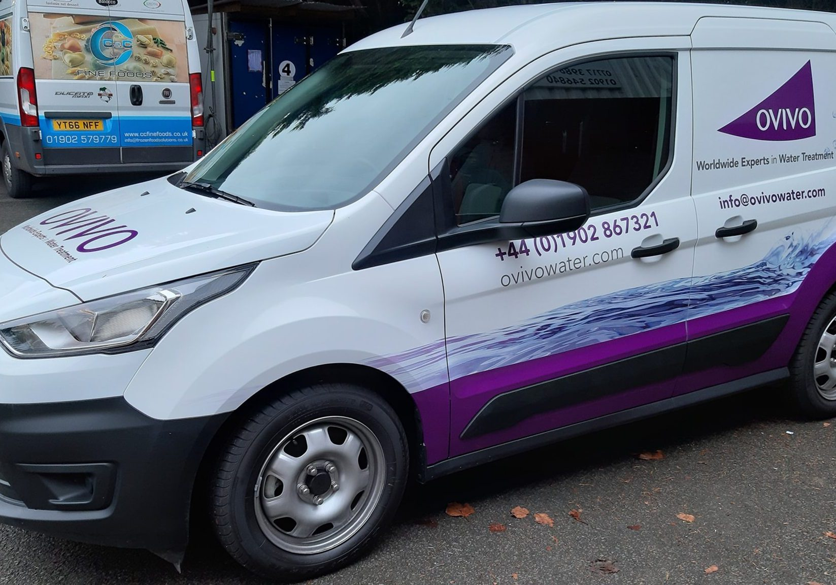 Vehicle livery & window graphics